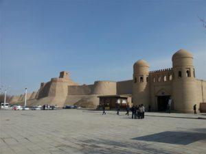 Stadsmuren van Khiva