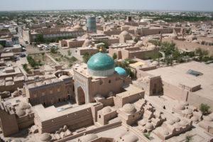 Khiva van bovenaf
