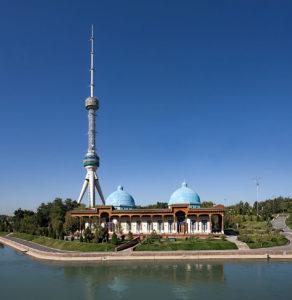 TV-toren in Tashkent, Oezbekistan