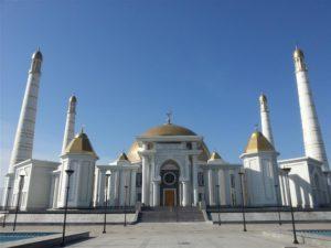 Turkmenbashii moskee in Ashgabat, Turkmenistan