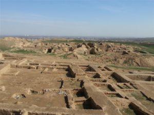 Nisa archeologische vindplaats bij Ashgabat, Turkmenistan