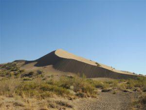 De Zingende Duin in Altyn Emel, Kazachstan