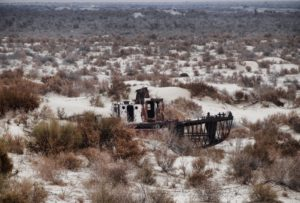 aralmeer, scheepswrakken, Oezbekistan