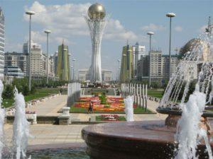 Baiterek Toren in Astana, Kazachstan