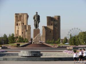 Timoer in Shahrisabz, Oezbekistan