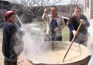 Sumalyak koken, Oezbeekse cuisine