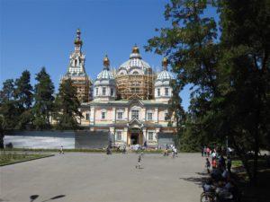Panfilov Kathedraal in Almaty, Kazachstan
