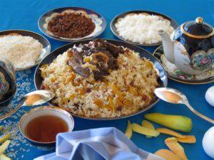 Pilav, Oezbeekse cuisine