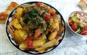 Dimlama, Oezbeekse cuisine