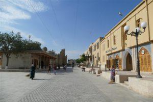 Boechara straatleven, Oezbekistan