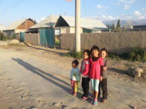 Dorpsleven in Kirgizië